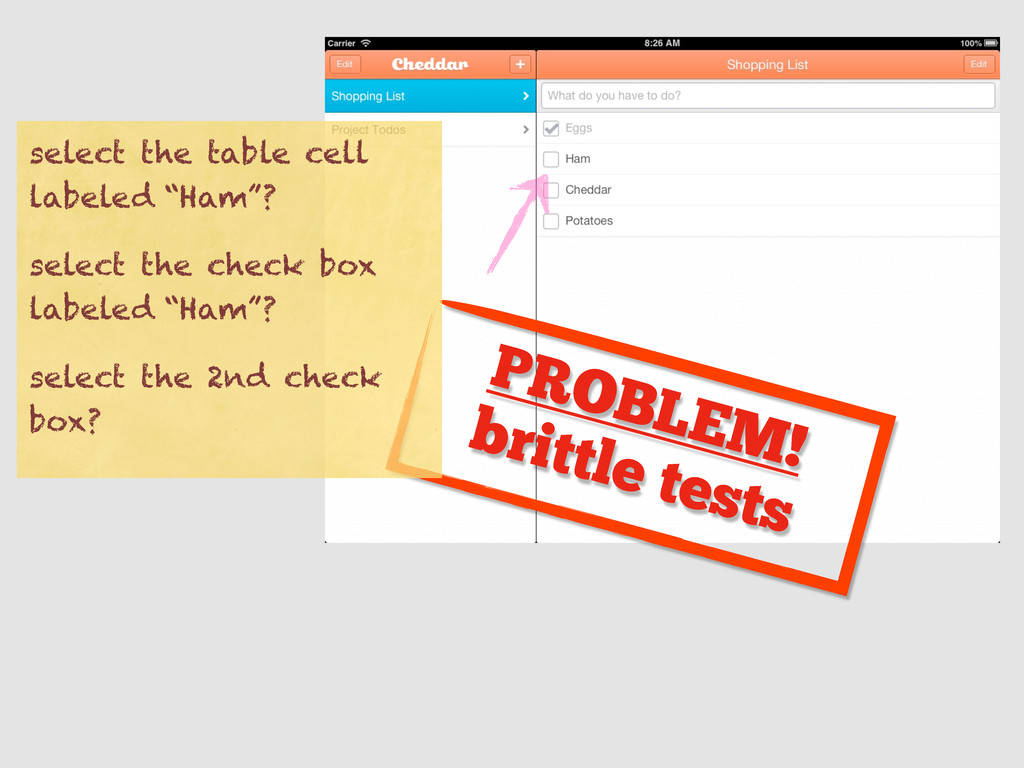 PROBLEM! brittle tests select the table cell la...