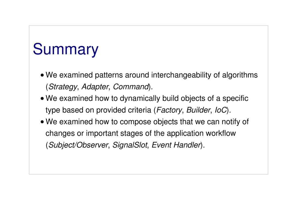Summary We examined patterns around interchange...