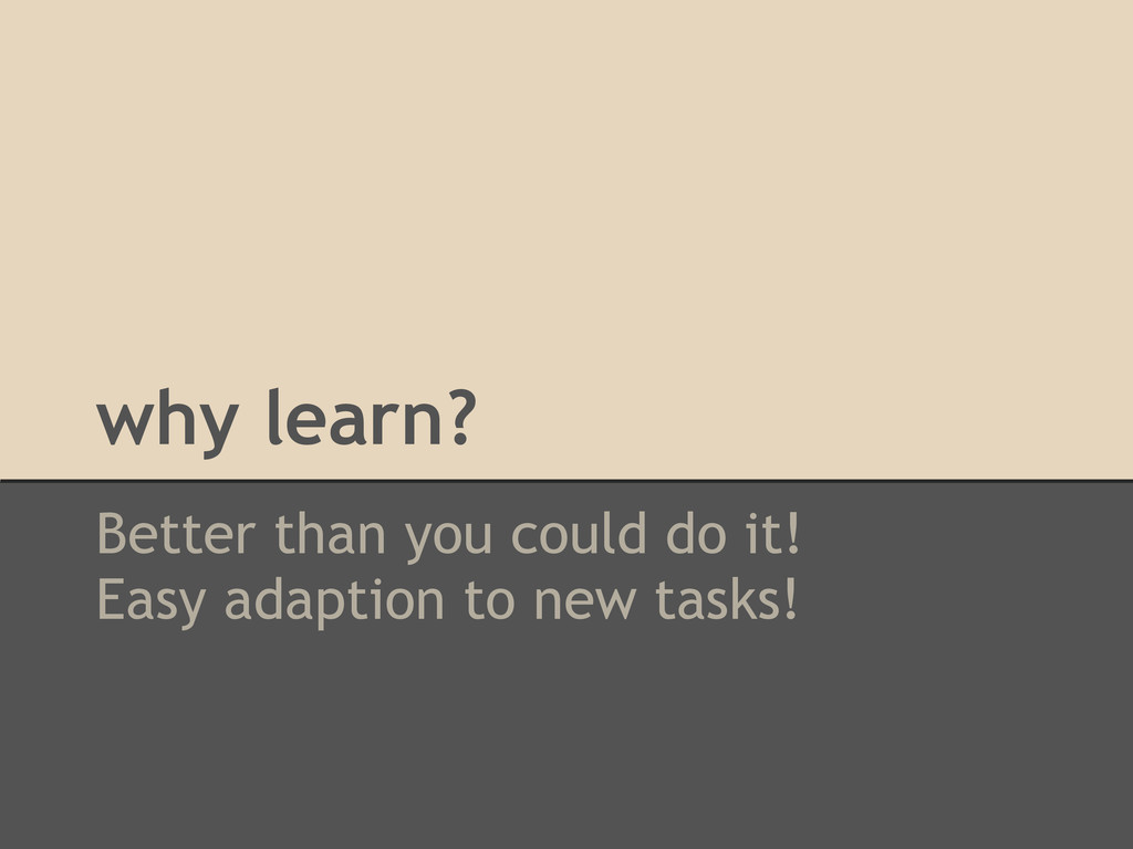 why learn? Better than you could do it! Easy ad...