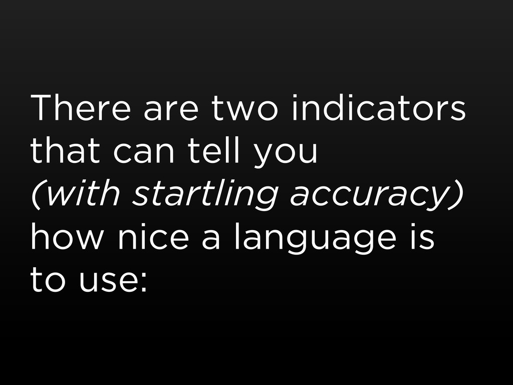 There are two indicators that can tell you (wit...