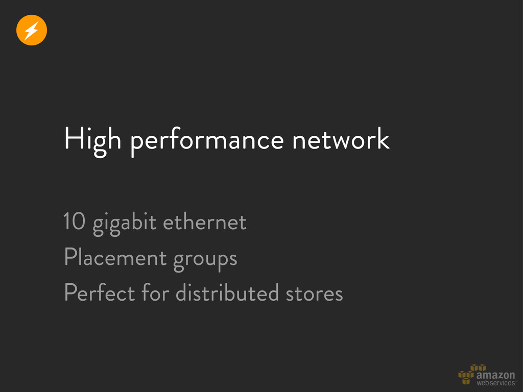 High performance network 10 gigabit ethernet Pl...