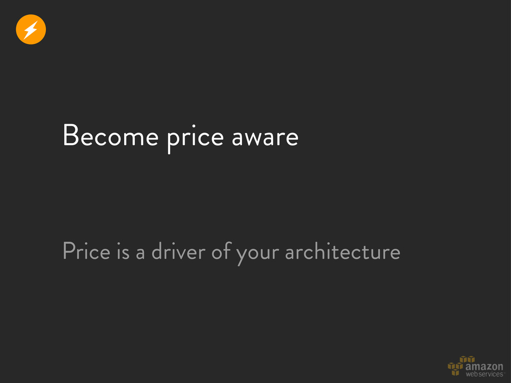 Become price aware Price is a driver of your ar...