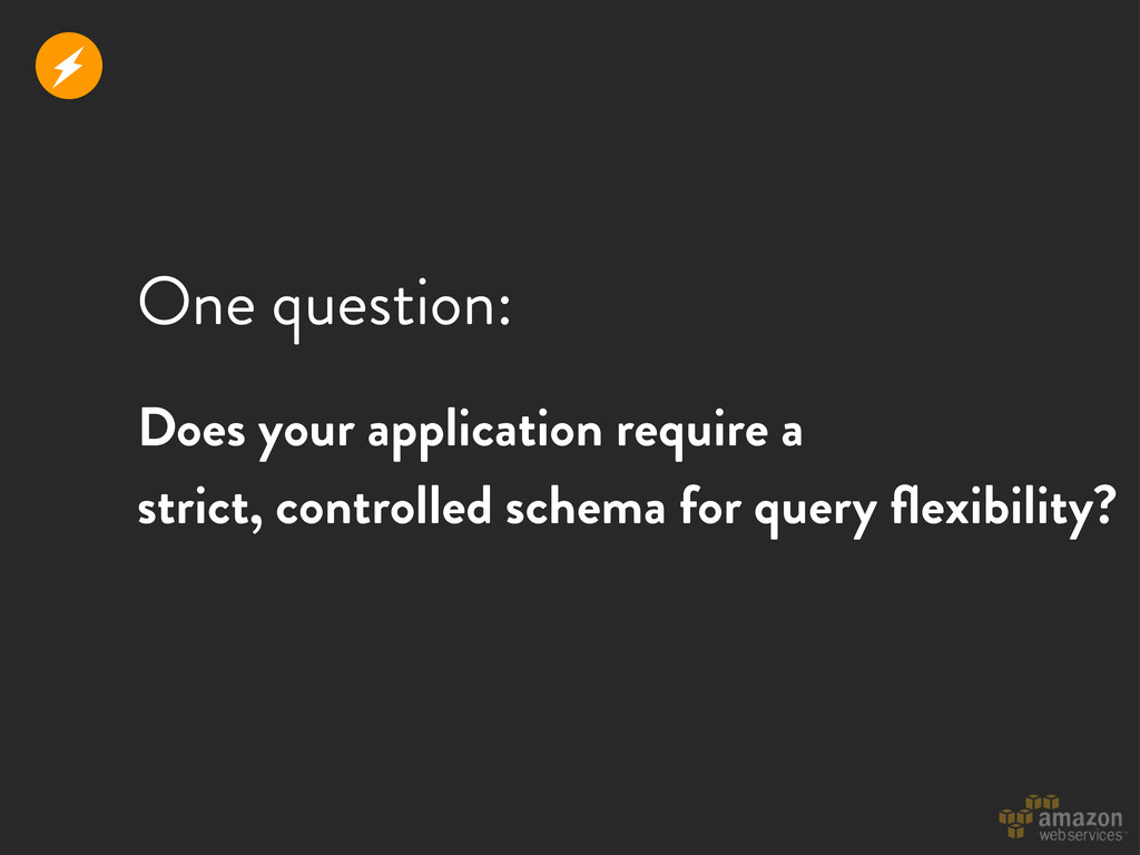 One question: r Does your application require a...
