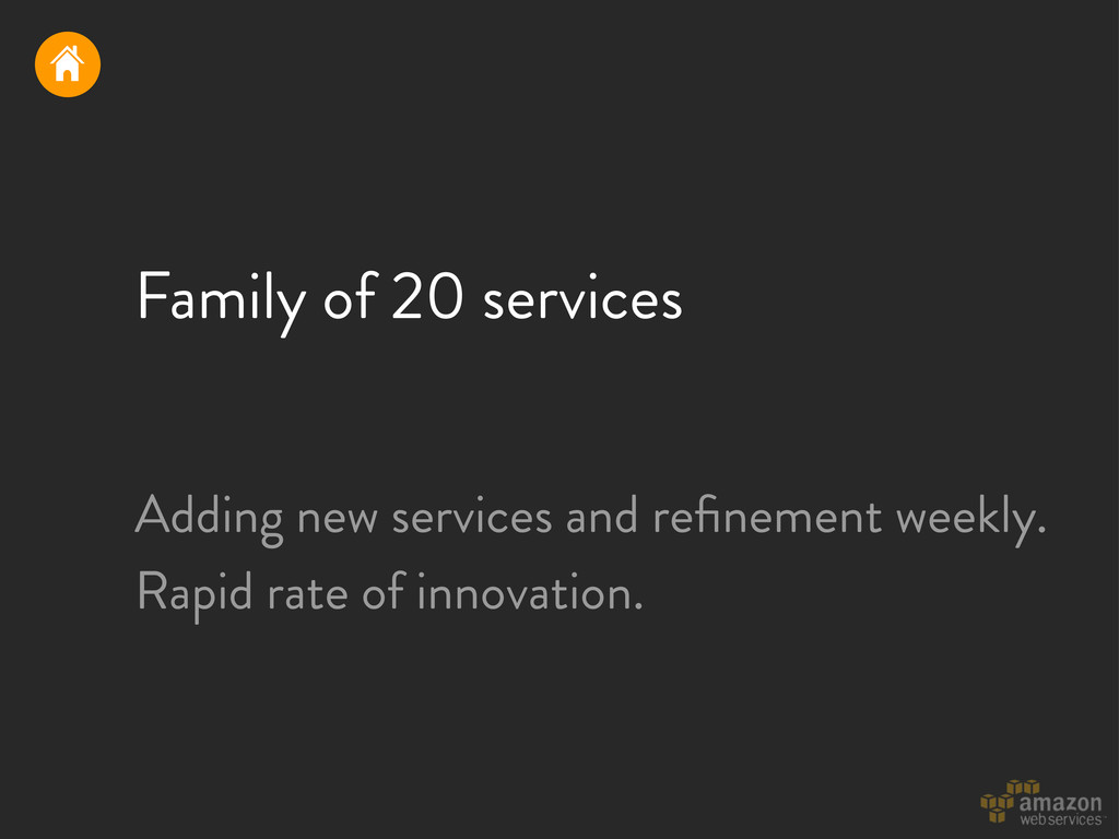 Family of 20 services Adding new services and r...