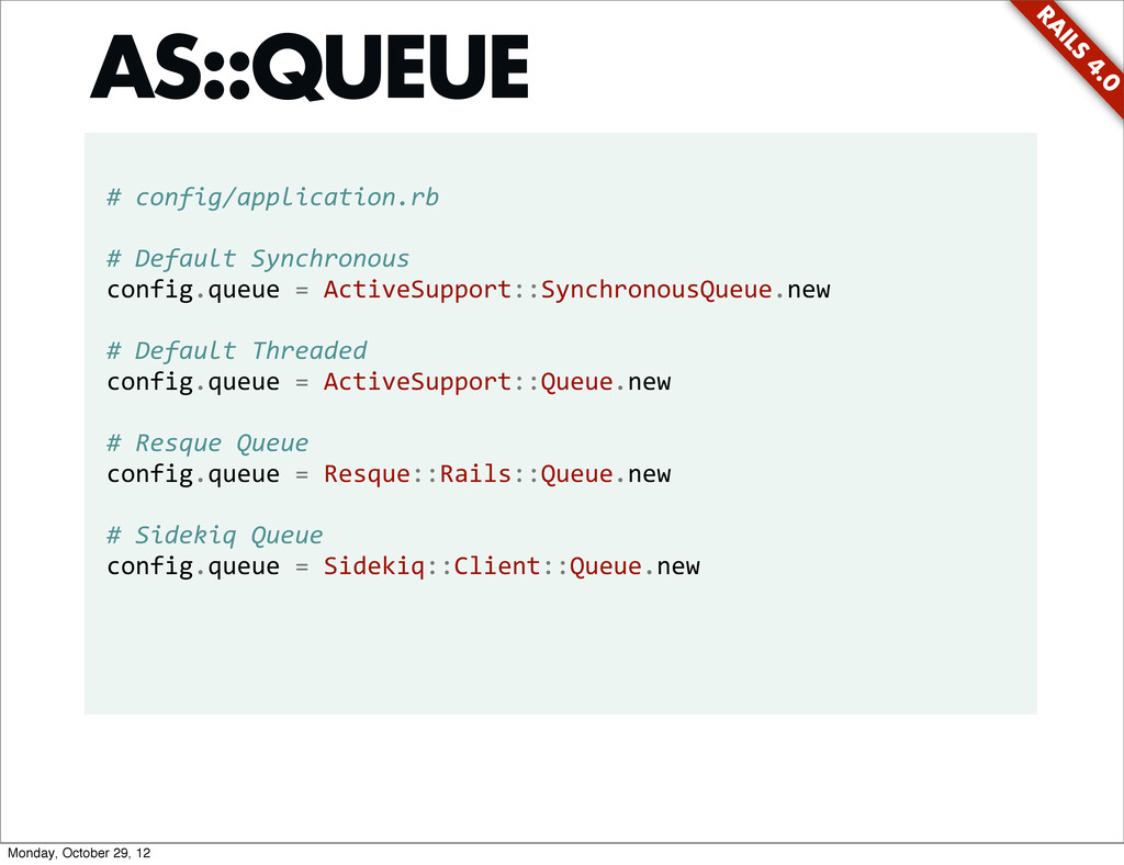 RA ILS 4.0 # config/application.rb # Defa...
