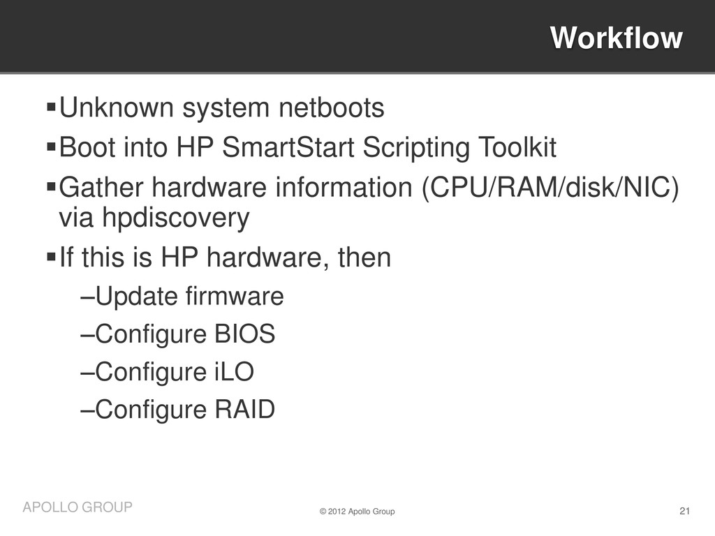 21 APOLLO GROUP Unknown system netboots Boot ...