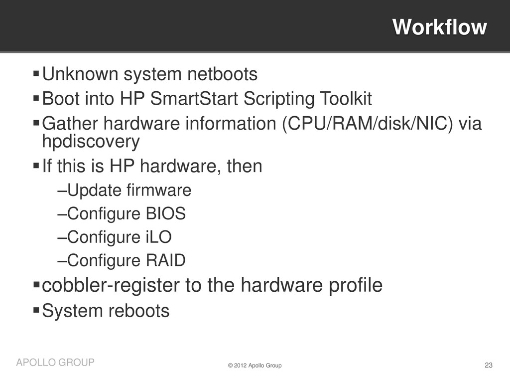 23 APOLLO GROUP Unknown system netboots Boot ...