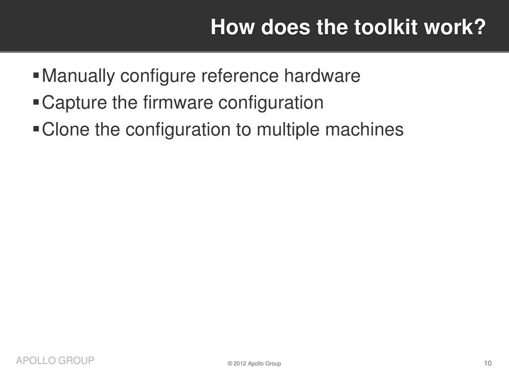 10 APOLLO GROUP Manually configure reference h...