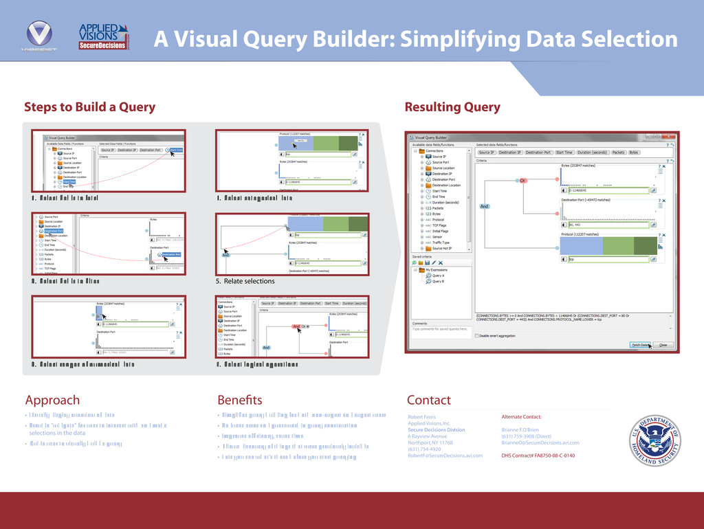 A Visual Query Builder: Simplifying Data Select...