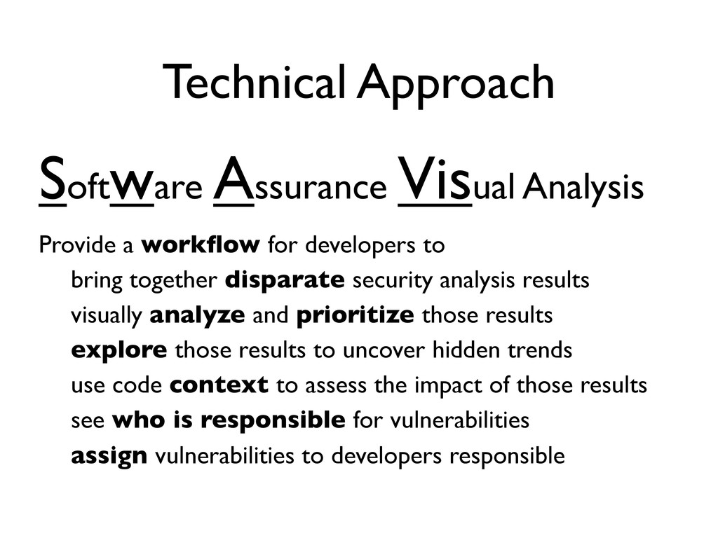 Technical Approach Provide a workflow for develo...