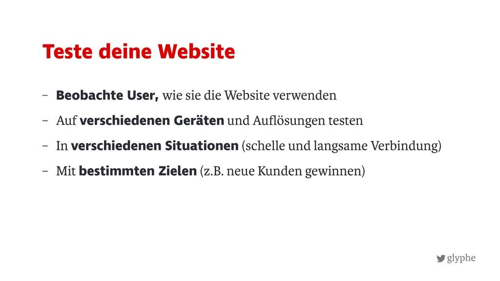 glyphe – Beobachte User, wie sie die Website ve...