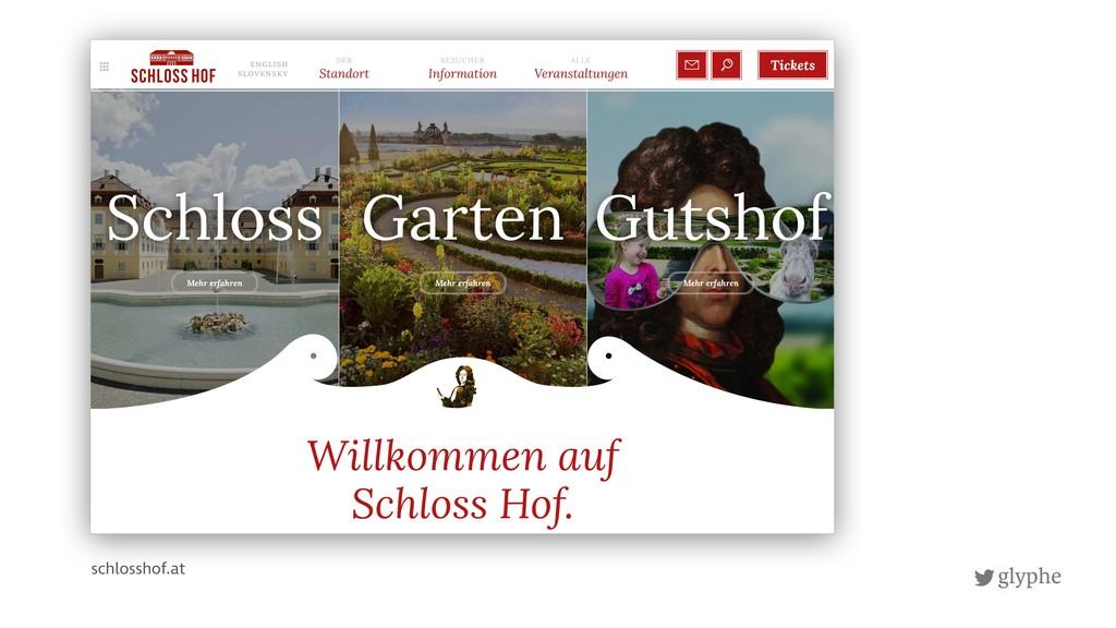 glyphe schlosshof.at