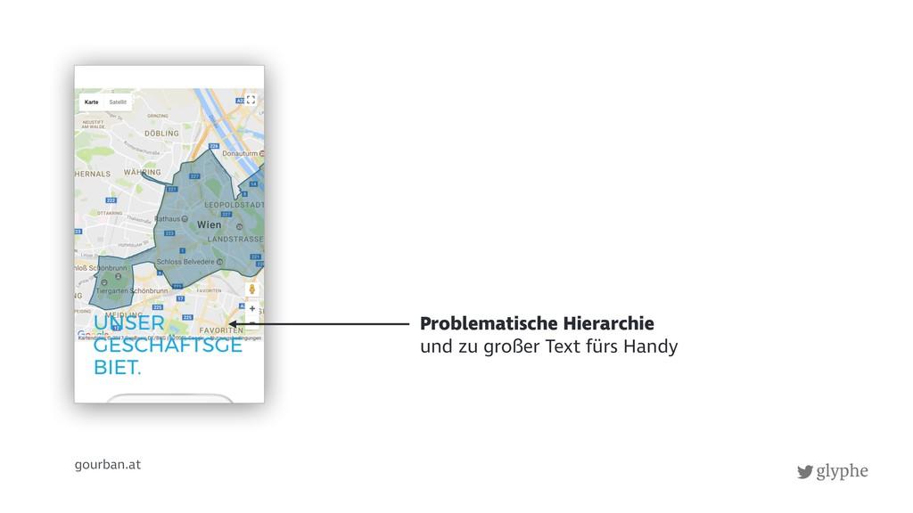 glyphe gourban.at Problematische Hierarchie und...