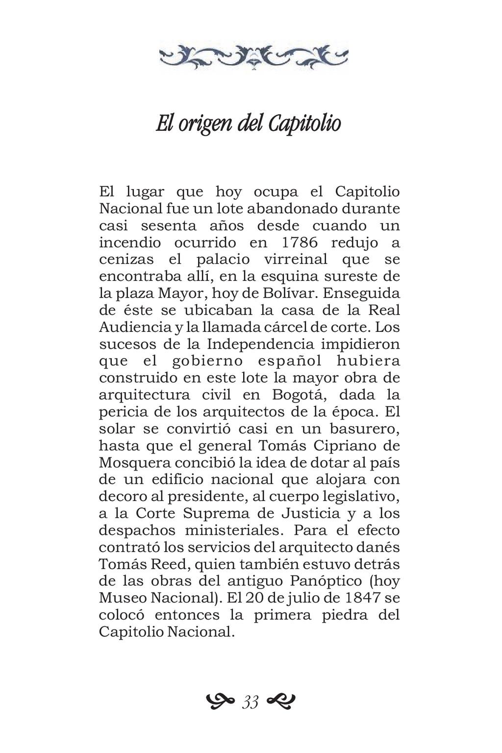 El origen del Capitolio El lugar que hoy ocupa ...