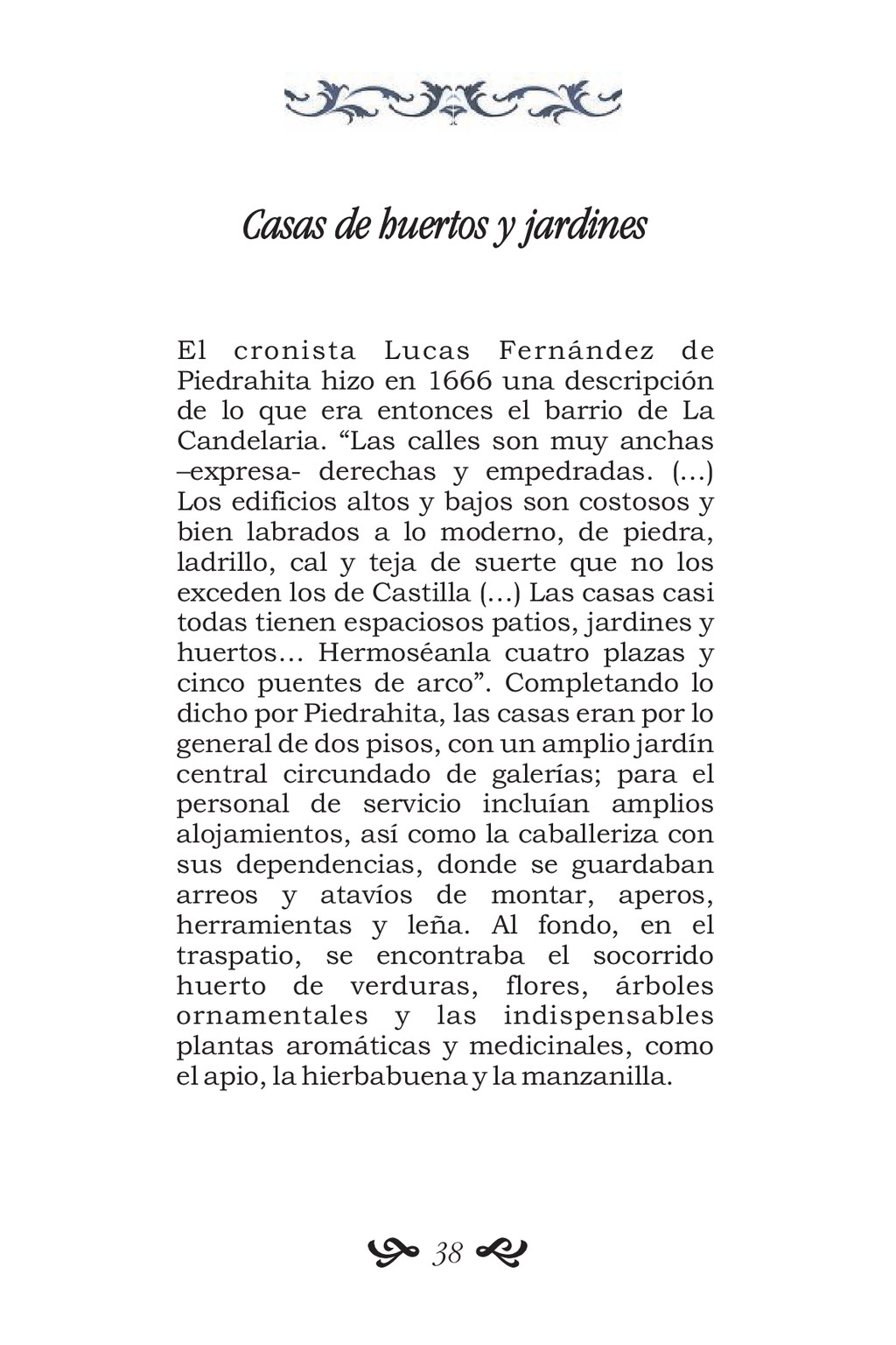 Casas de huertos y jardines El cronista Lucas F...
