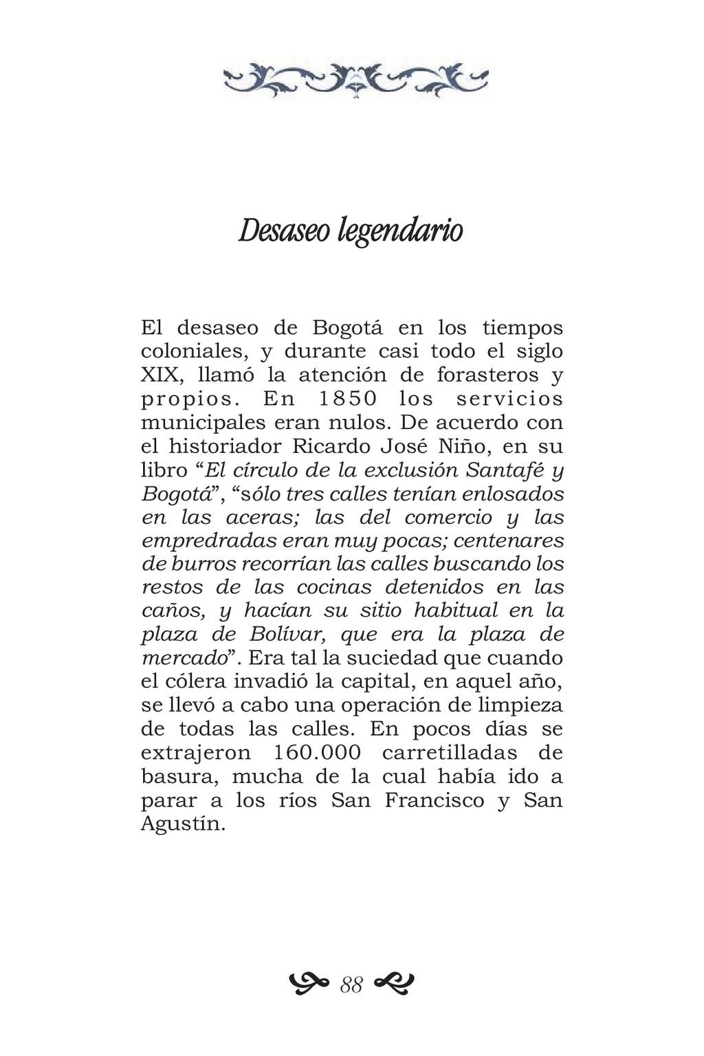 Desaseo legendario El desaseo de Bogotá en los ...