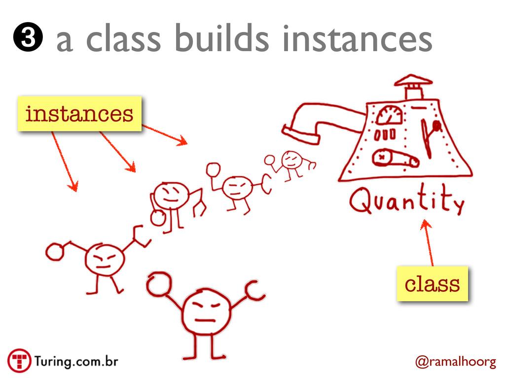 @ramalhoorg class instances ➌ a class builds in...