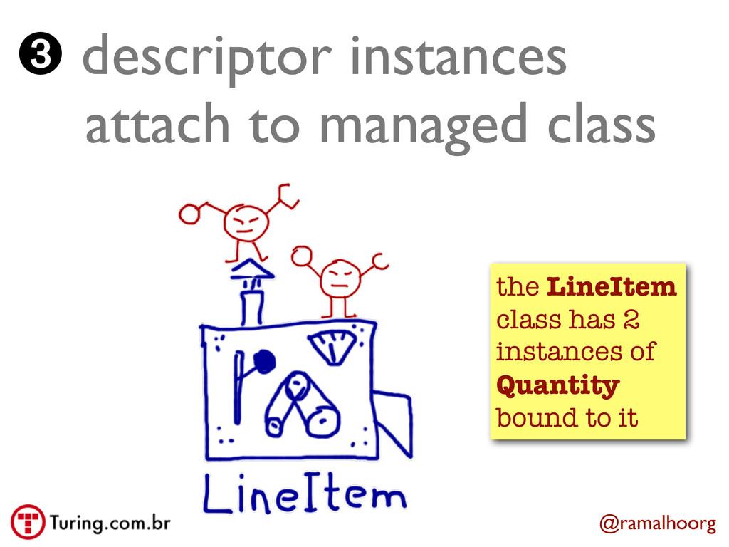 @ramalhoorg ➌ descriptor instances   attach t...