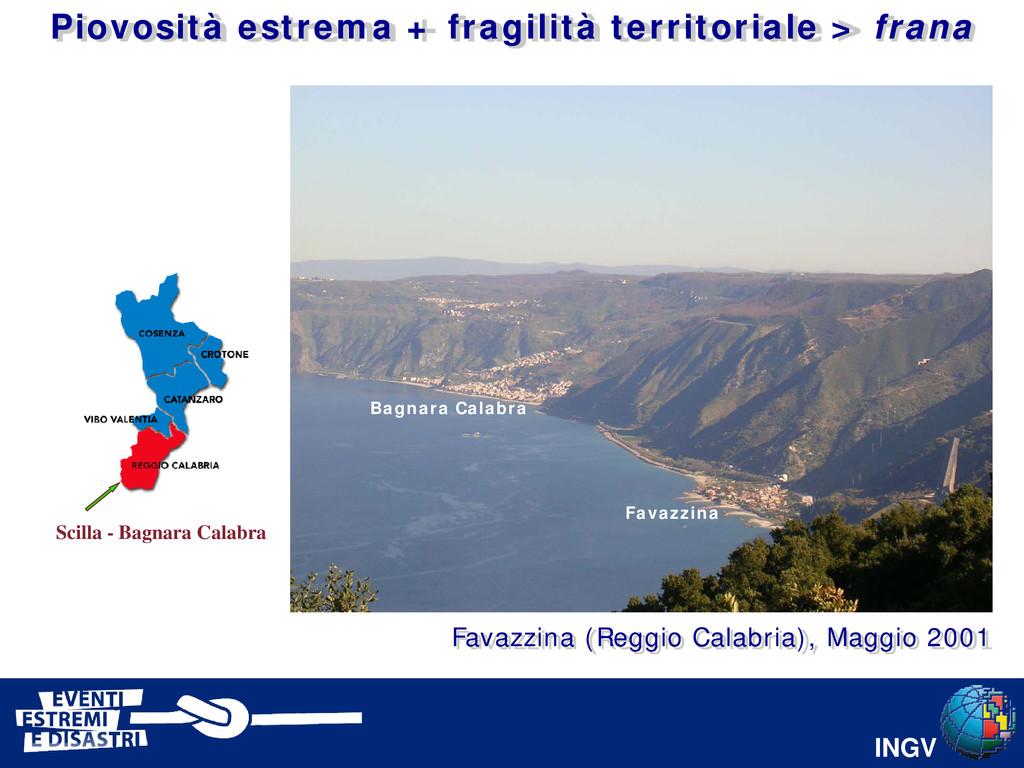INGV Bagnara Calabra Favazzina Scilla - Bagnara...