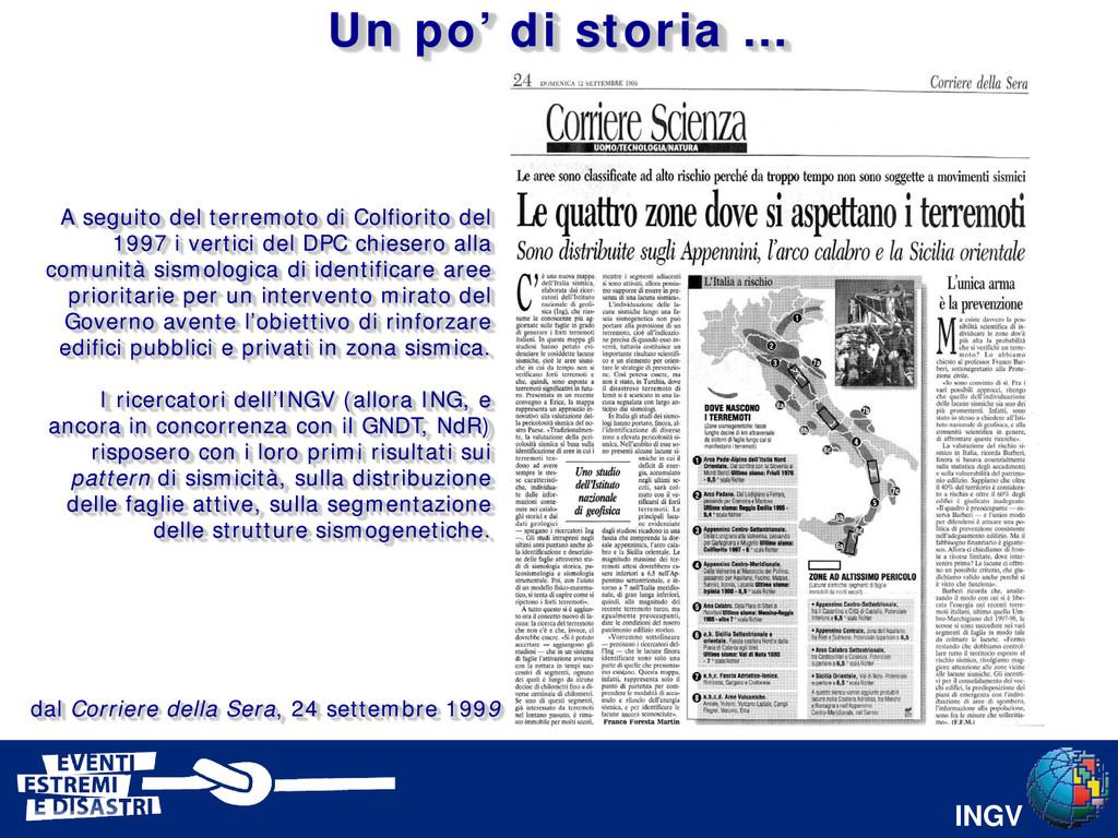 INGV dal Corriere della Sera, 24 settembre 1999...