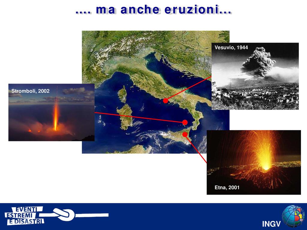 INGV Etna, 2001 Vesuvio, 1944 Stromboli, 2002 …...