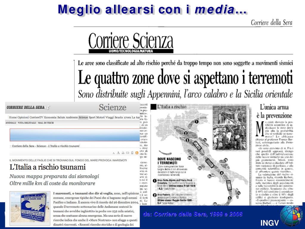 INGV Serpelloni et al. [2008] da: Corriere dell...