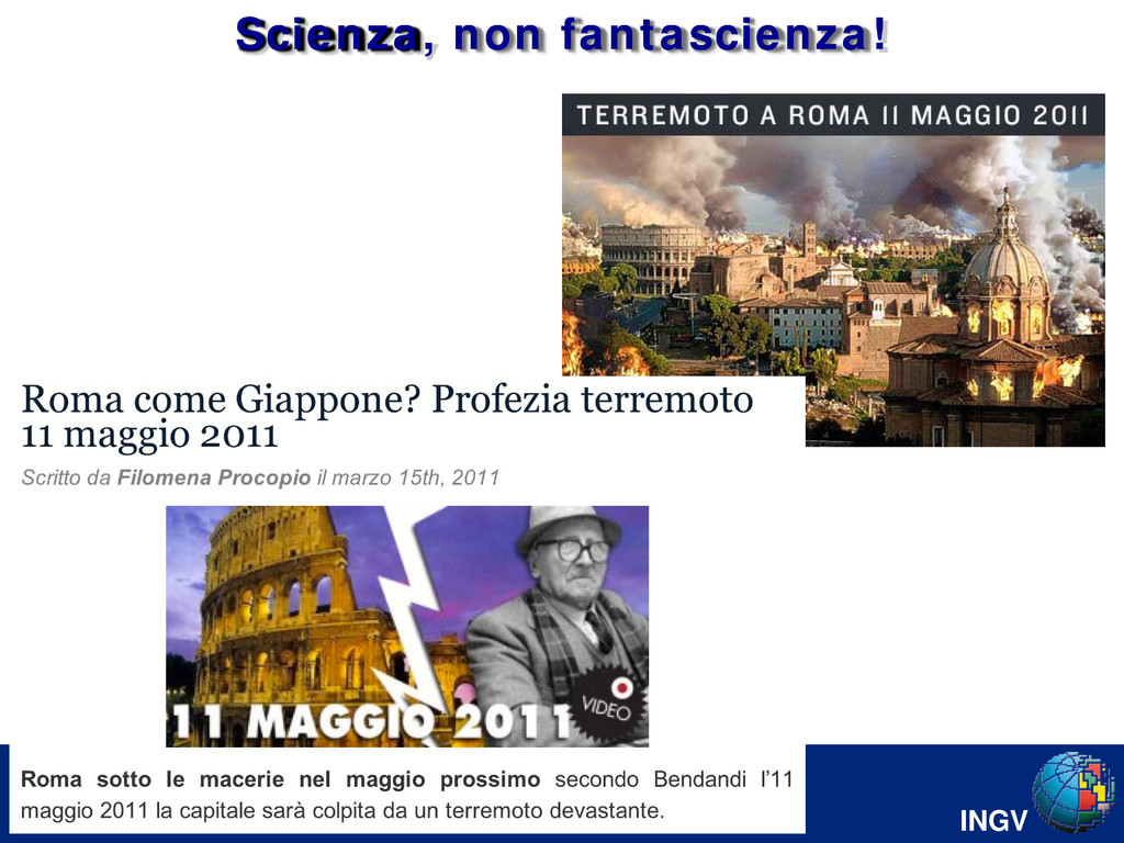 INGV Colonna di Marco Aurelio Scienza, non fant...