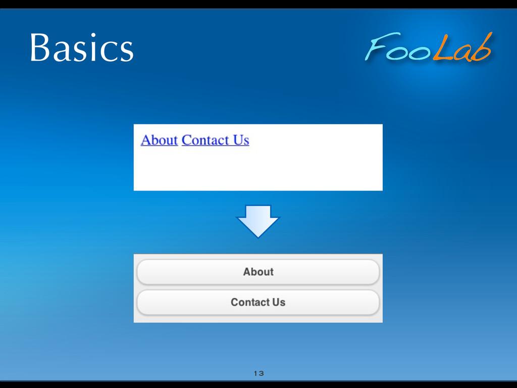 FooLab Basics 13