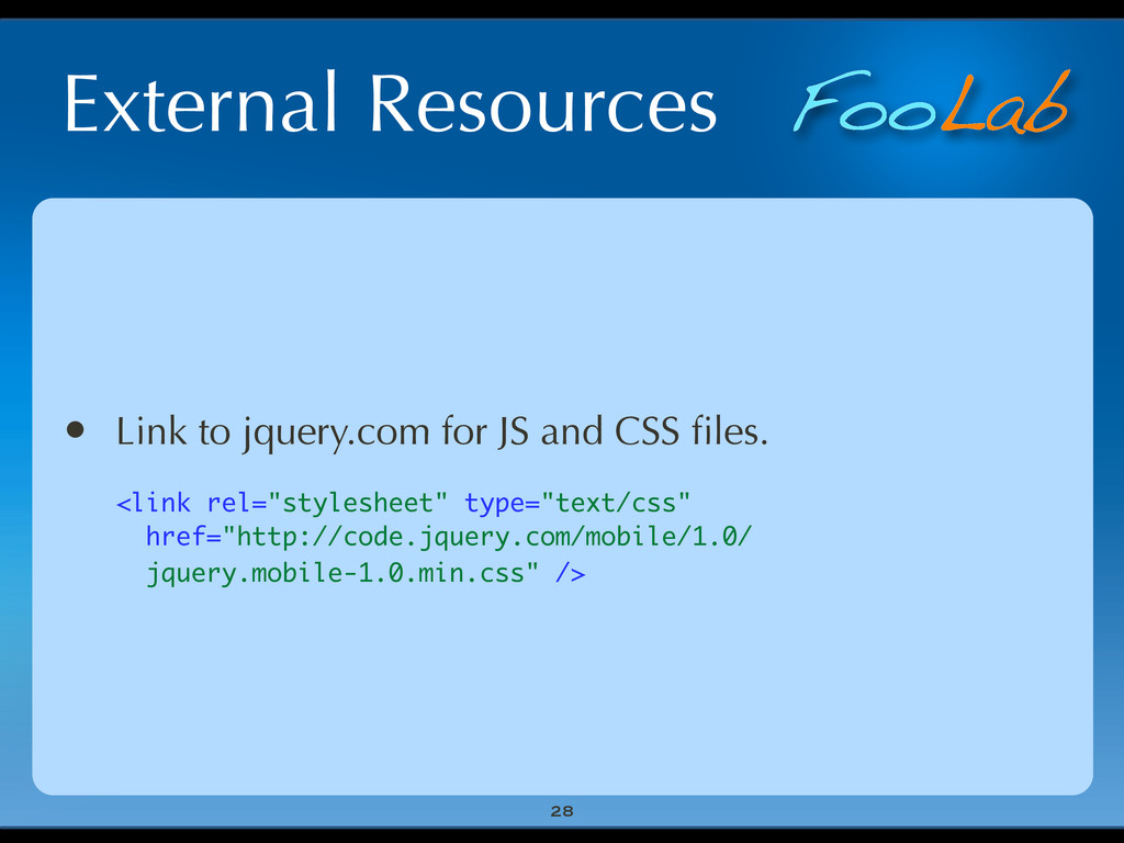 FooLab External Resources 28 • Link to jquery.c...
