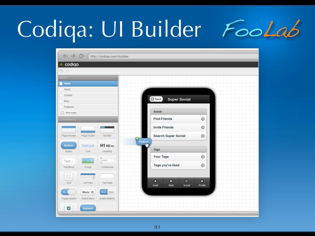 FooLab Codiqa: UI Builder 31