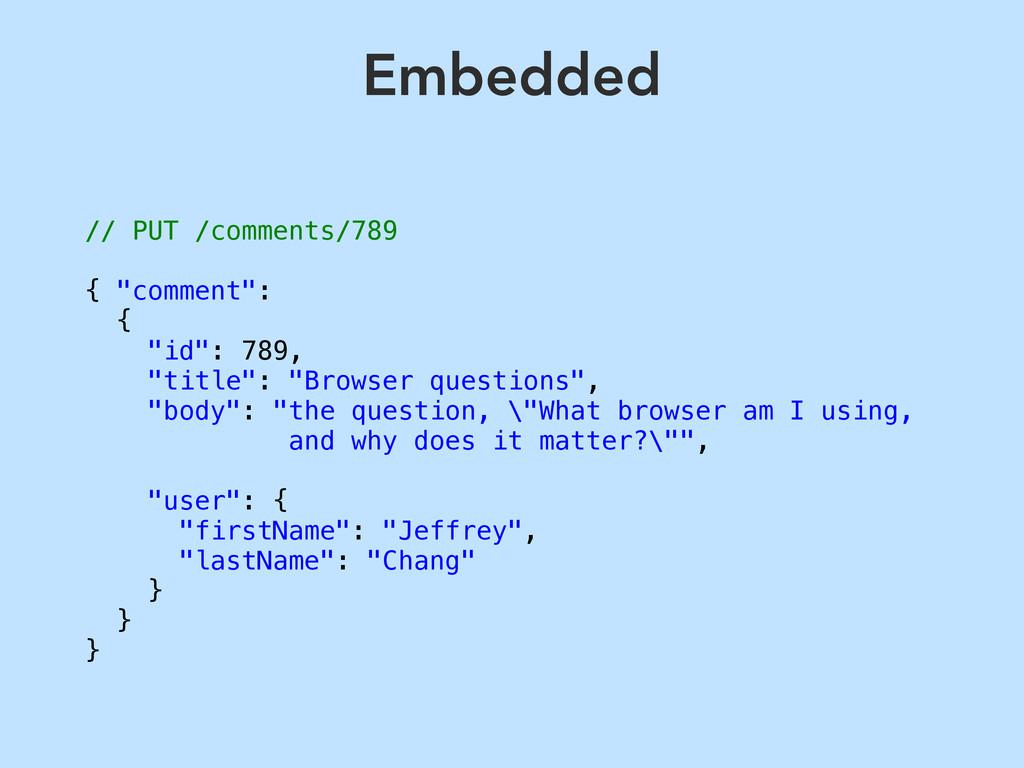 "// PUT /comments/789 { ""comment"": { ""id"": 789, ..."
