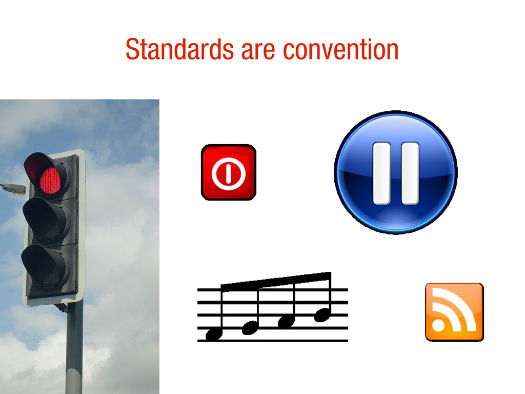 10/31/12 Standards are convention