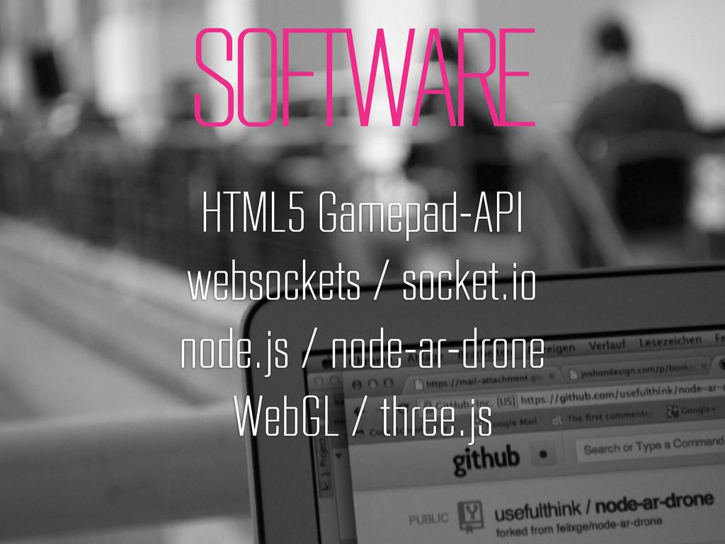 SOFTWARE HTML5 Gamepad-API websockets / socket....