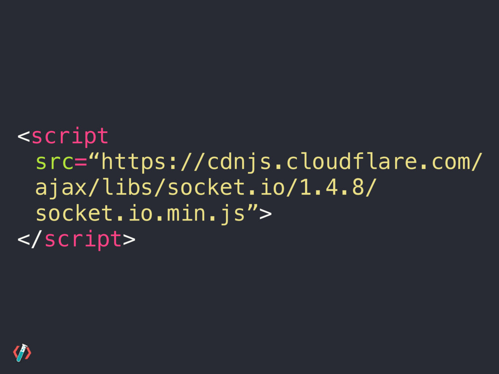 """<script src=""""https://cdnjs.cloudflare.com/ ajax..."""