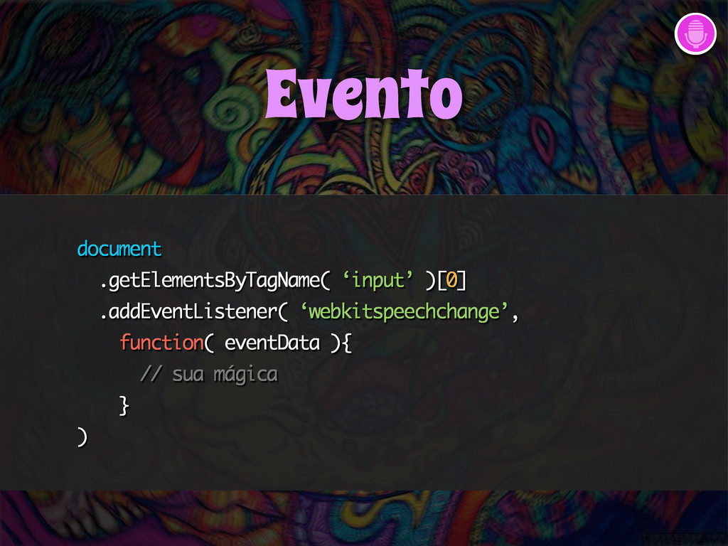 document .getElementsByTagName( 'input' )[0] .a...