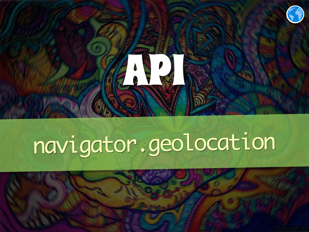 API navigator.geolocation