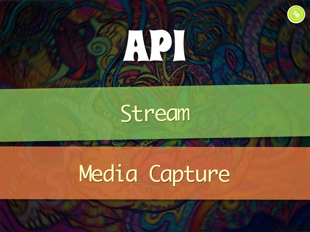 API Stream Media Capture