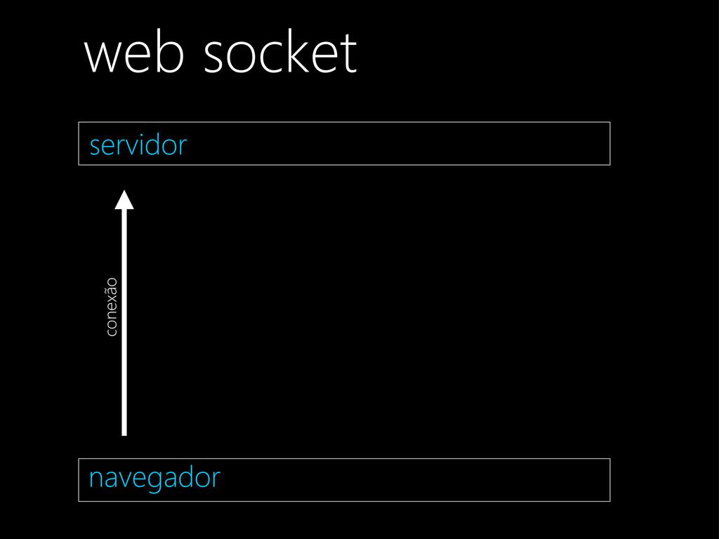 navegador conexão servidor web socket