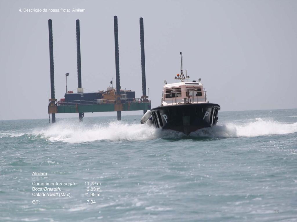 Alnilam Comprimento/Length: 11,72 m Boca/Breadt...