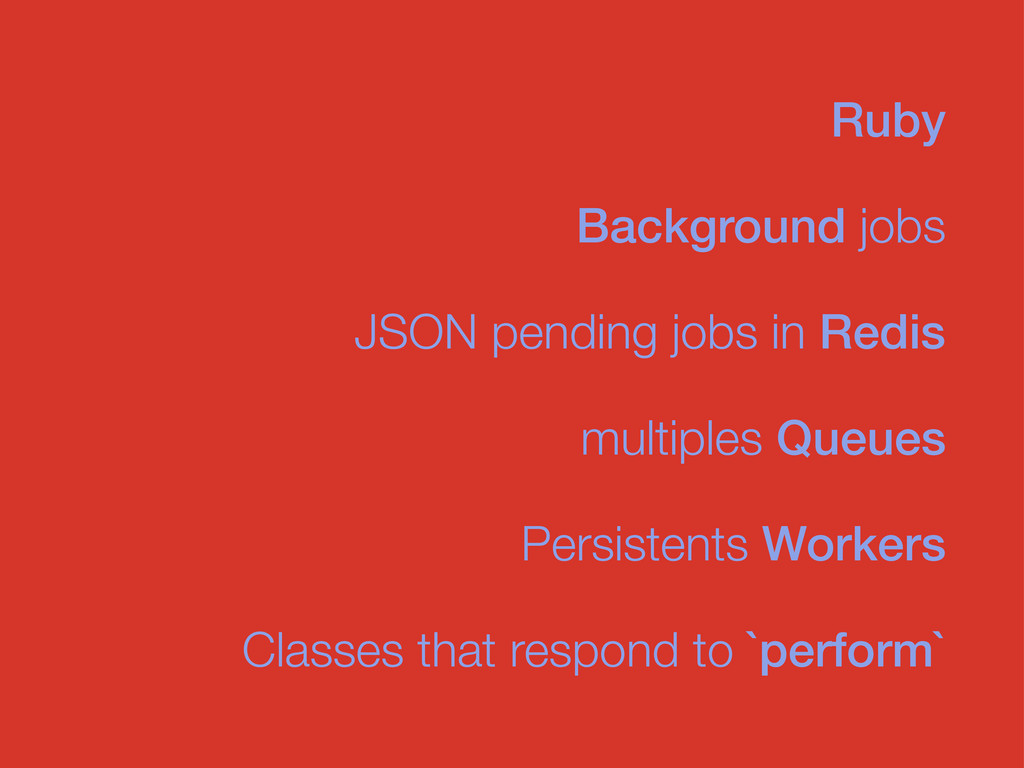 Background jobs JSON pending jobs in Redis Ruby...