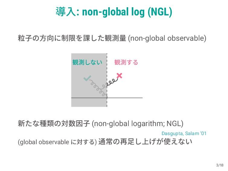 ಋೖ: non-global log (NGL) ཻࢠͷํʹ੍ݶΛ՝ͨ͠؍ଌྔ (non-g...