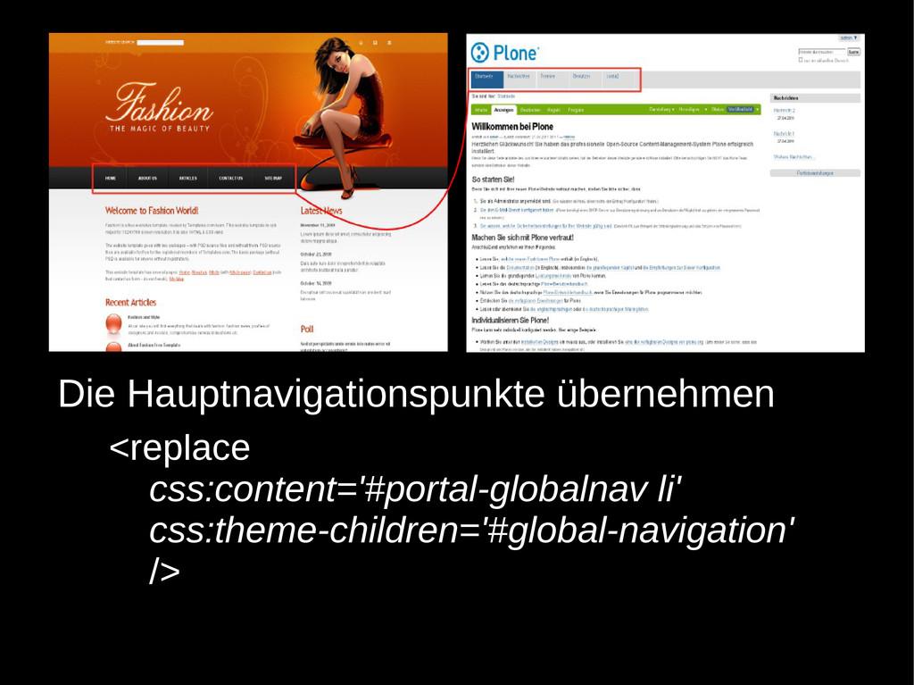 <replace css:content='#portal-globalnav li' css...