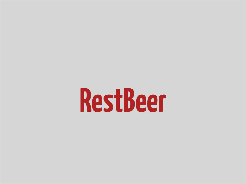RestBeer