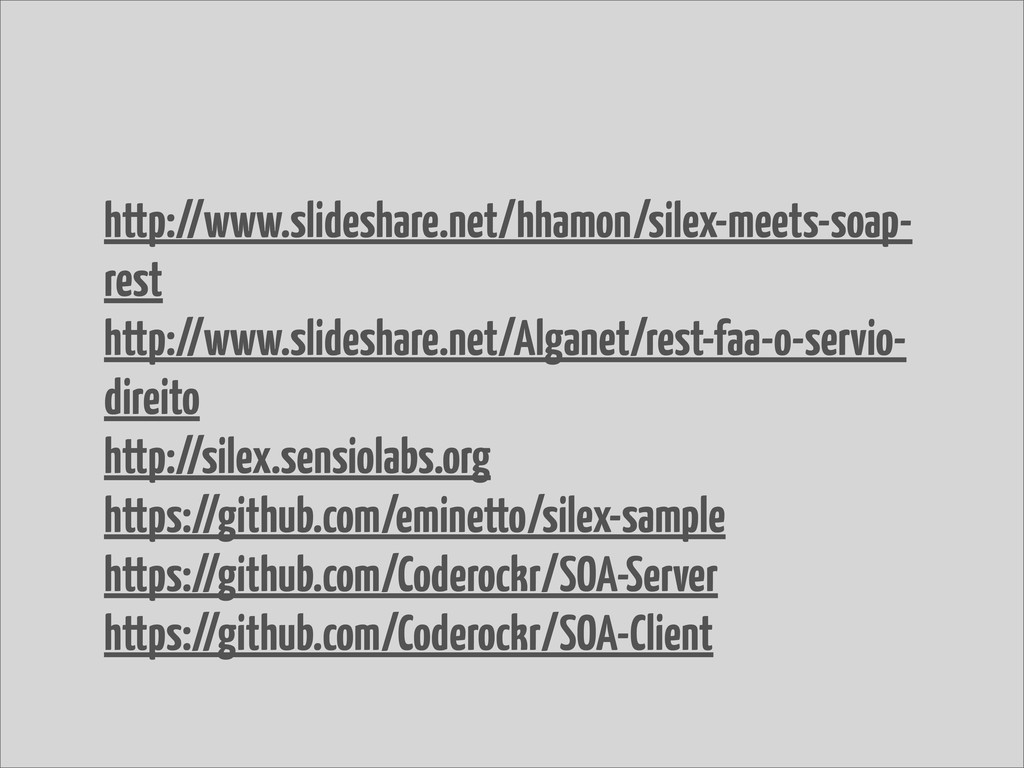 http://www.slideshare.net/hhamon/silex-meets-so...