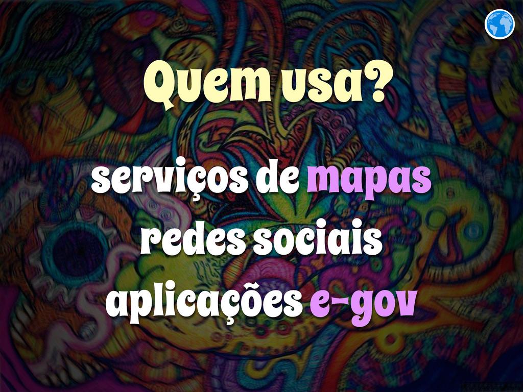 serviços de mapas redes sociais aplicações e-go...