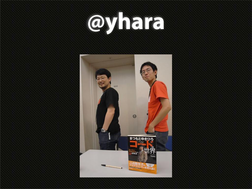 @yhara