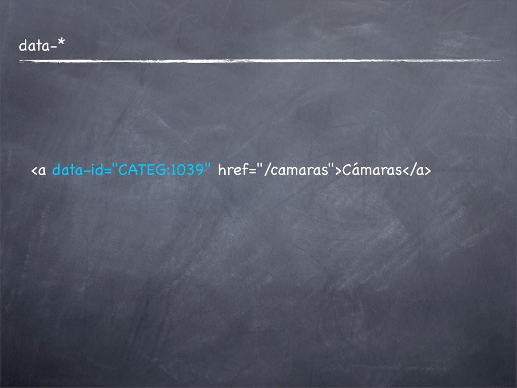 """data-* <a data-id=""""CATEG:1039"""" href=""""/camaras"""">..."""