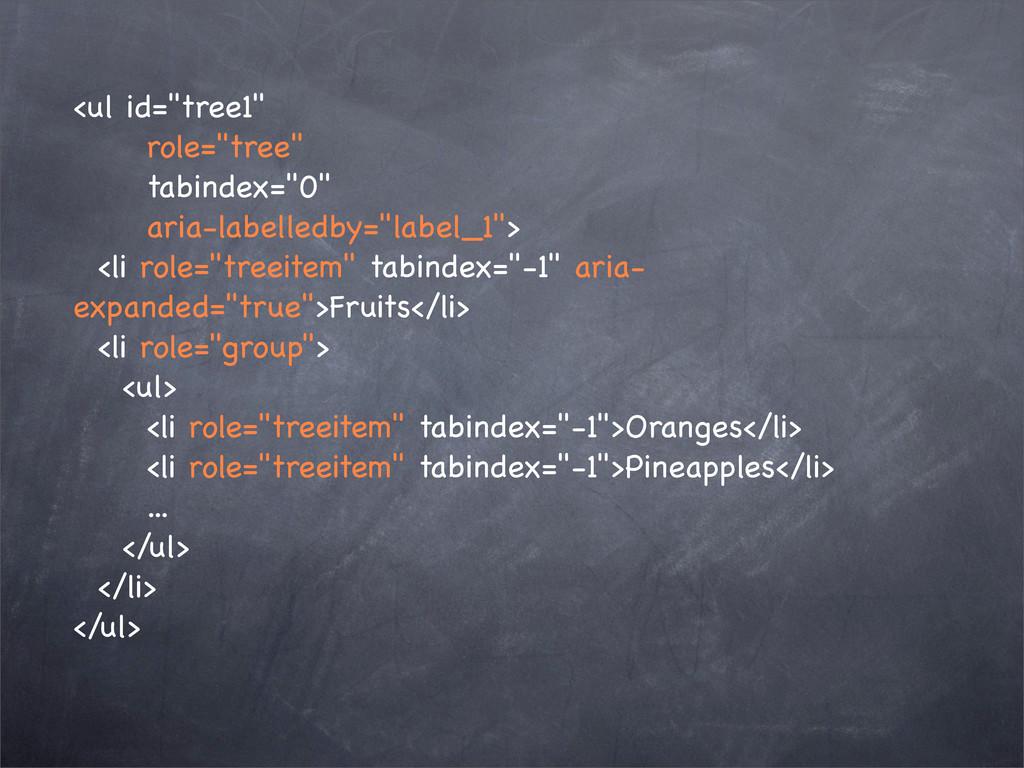 "<ul id=""tree1"" role=""tree"" tabindex=""0"" aria-la..."