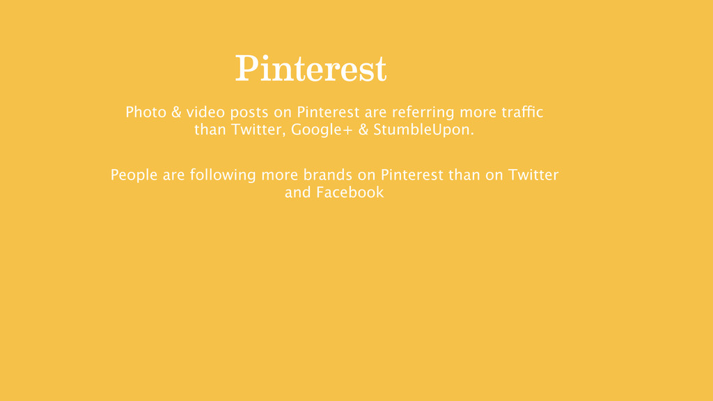 Pinterest Photo & video posts on Pinterest are ...