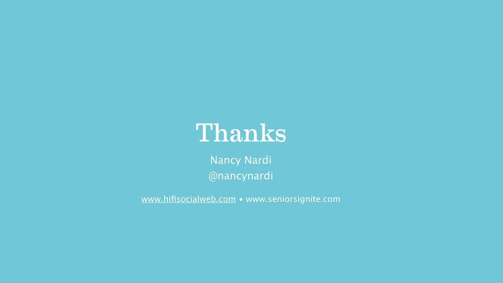 Thanks @nancynardi Nancy Nardi www.hifisocialweb...